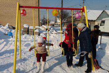 Детская площадка ЖМ Ак Орго