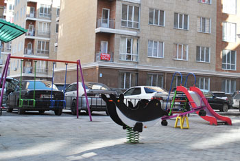 Игровая площадка Бишкек мкр. Ала-Тоо