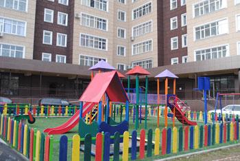 Игровая площадка Бишкек 5 мкр