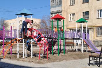 Детская площадка Кант ул. Гагарина