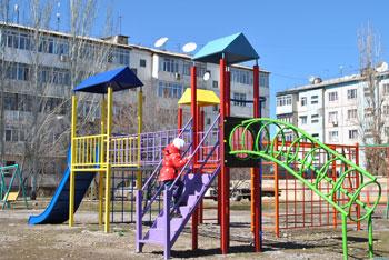 Детский комплекс Кант 3 микрорайон