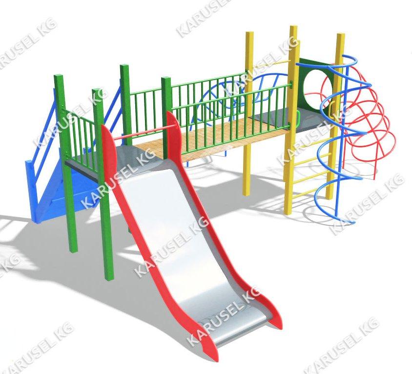 Детский игровой комплекс 020