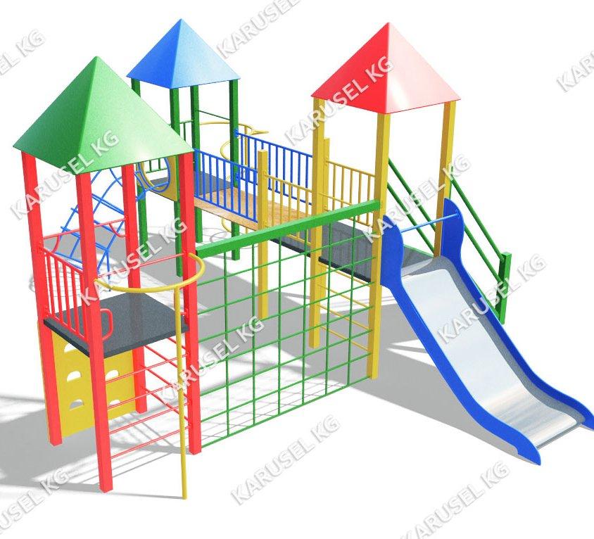 Детский игровой комплекс 021