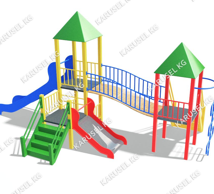Детский игровой комплекс 024