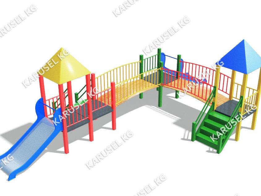 Детский игровой комплекс 025