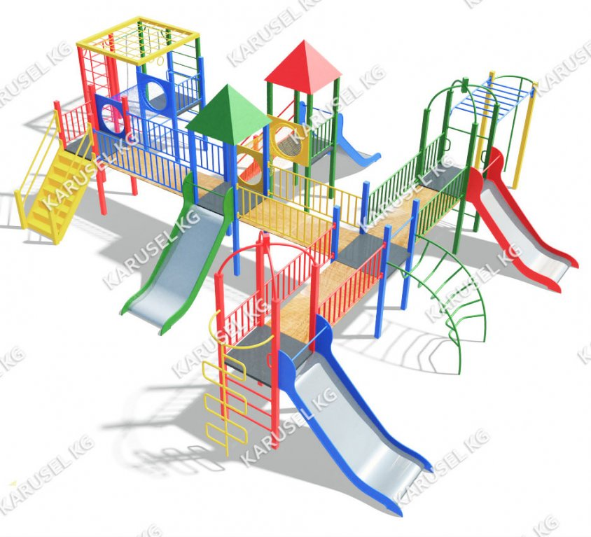 Детский игровой комплекс 043