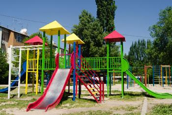 Детская площадка Токмок 1 микрорайон
