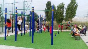 строительство спортивные площадки