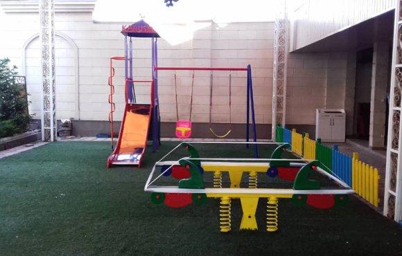 Детская площадка ресторана Арзу